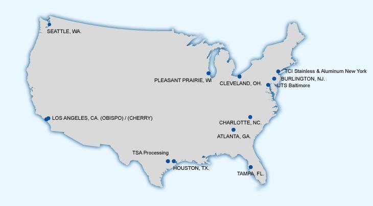 Tci Usa Location